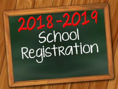 Register for the 18-19 school year!