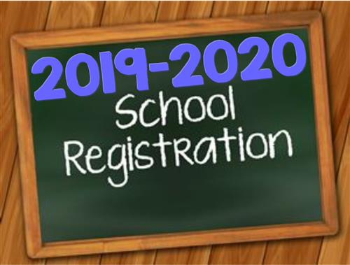 2019-2020 School Year Registration
