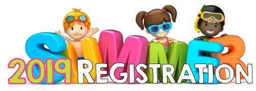 2019 Kids Club Summer Registration