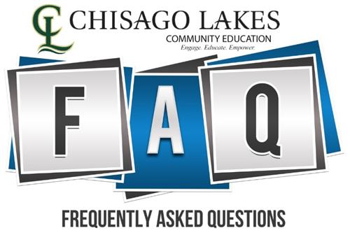Community Ed. Frequently Asked Questions